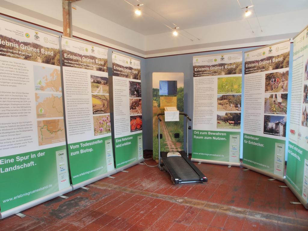 Das Grüne Band: Ausstellung im Grenzbahnhofmuseum Probstzella